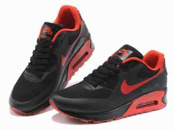f560fe8d3615 Homme Nike Air Max 90 Rouge/ Noir, rosh run noir rose