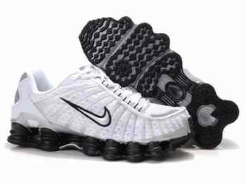 Nike Shox Blanche Et Noir